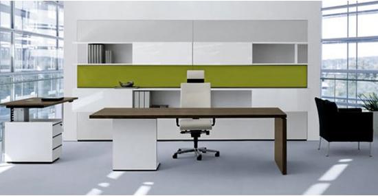 Một mẫu thiết kế bàn làm việc giám đốc, bàn làm việc đơn giản mà đẹp