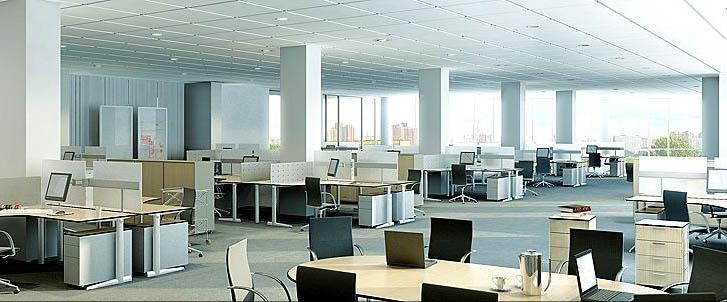 Kết quả hình ảnh cho Những lợi ích từ những mẫu thiết kế nội thất văn phòng mở