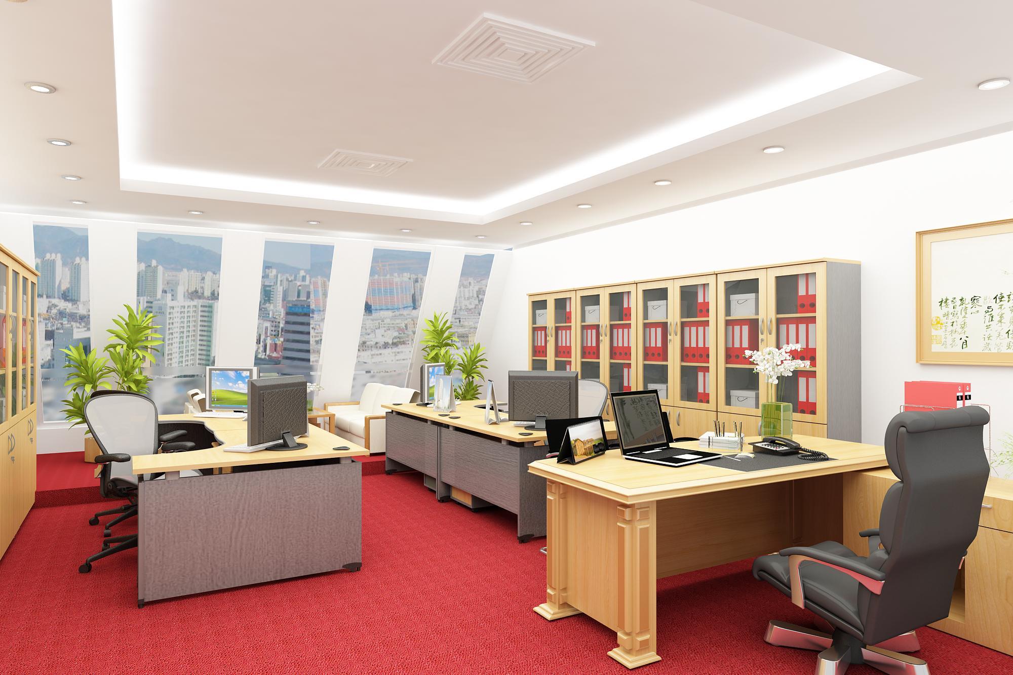 Image result for trang trí nội thất phòng làm việc