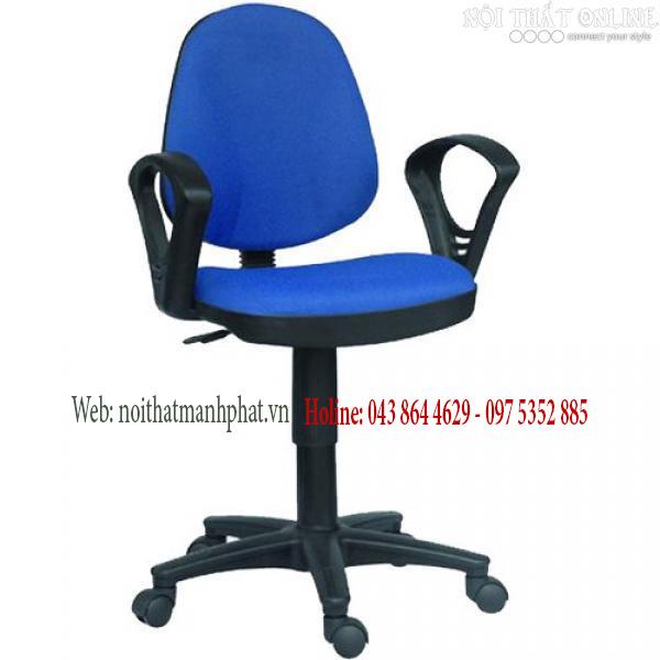 Ghế nhân viên văn phòng SG550 màu xanh dương
