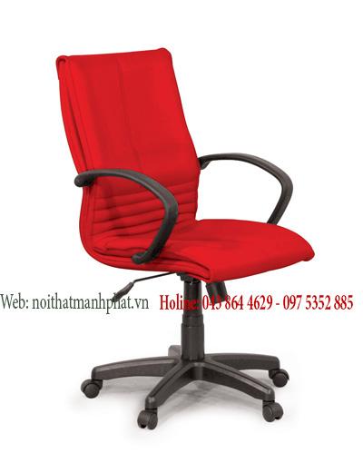 Ghế nỉ dành cho trưởng phòng giá rẻ , màu đỏ GX12B