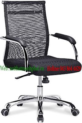 Ghế lưới văn phòng dành cho trưởng phòng màu đen GL307